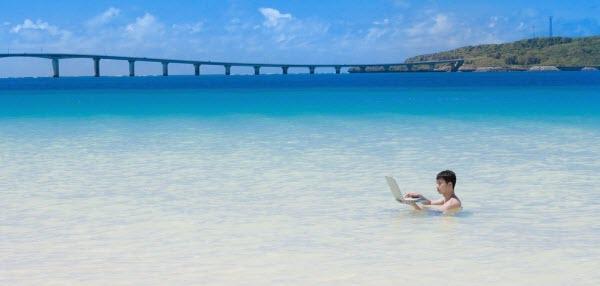 海の中でもステップメールを怠らないWEBマーケター